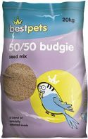 Best Pets Budgie 50/50 Seed Mix